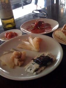 The Cheese Plate at Bar Jamon