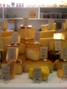 Very knowledgeable cheesemonger Sergio Hernandez is often on hand to help you pick cheese.