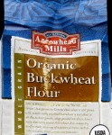 I'll be using this organic buckwheat flour to make my blinis