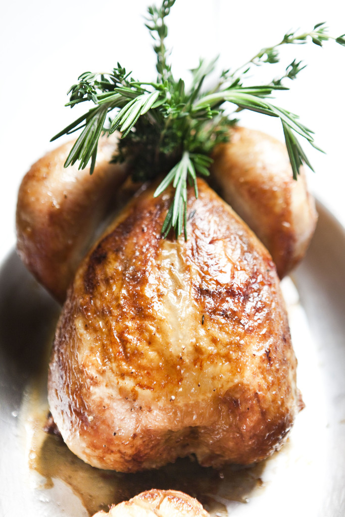 Benoit's Roast Chicken. Photo by Pierre Monetta.