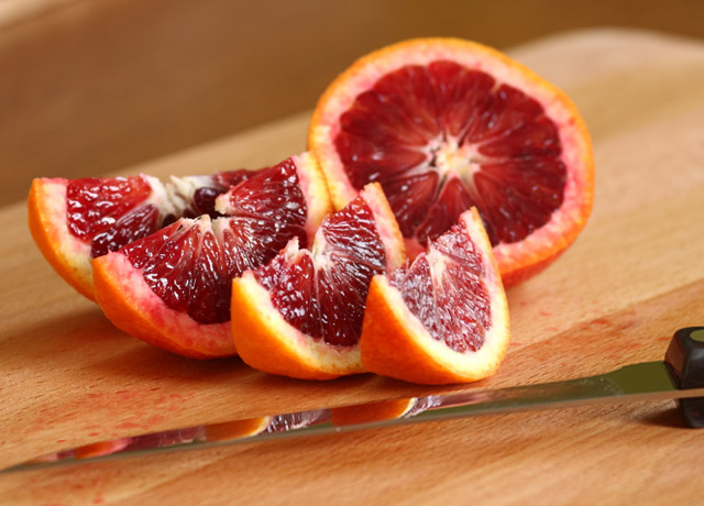 Blood oranges are the highlight on this year's menu at Almond.