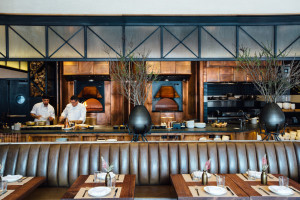 Head to L'Amico for rustic Italian food, including wood-oven pizza.