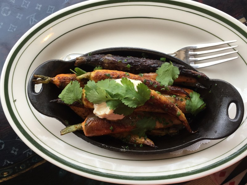 These roasted carrots from Chef Marcus Samuelsson contain an Ethiopian spice: berbere.